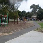 This is one of three separate playgrounds at BSPS. Each playground designed to suit different age levels.